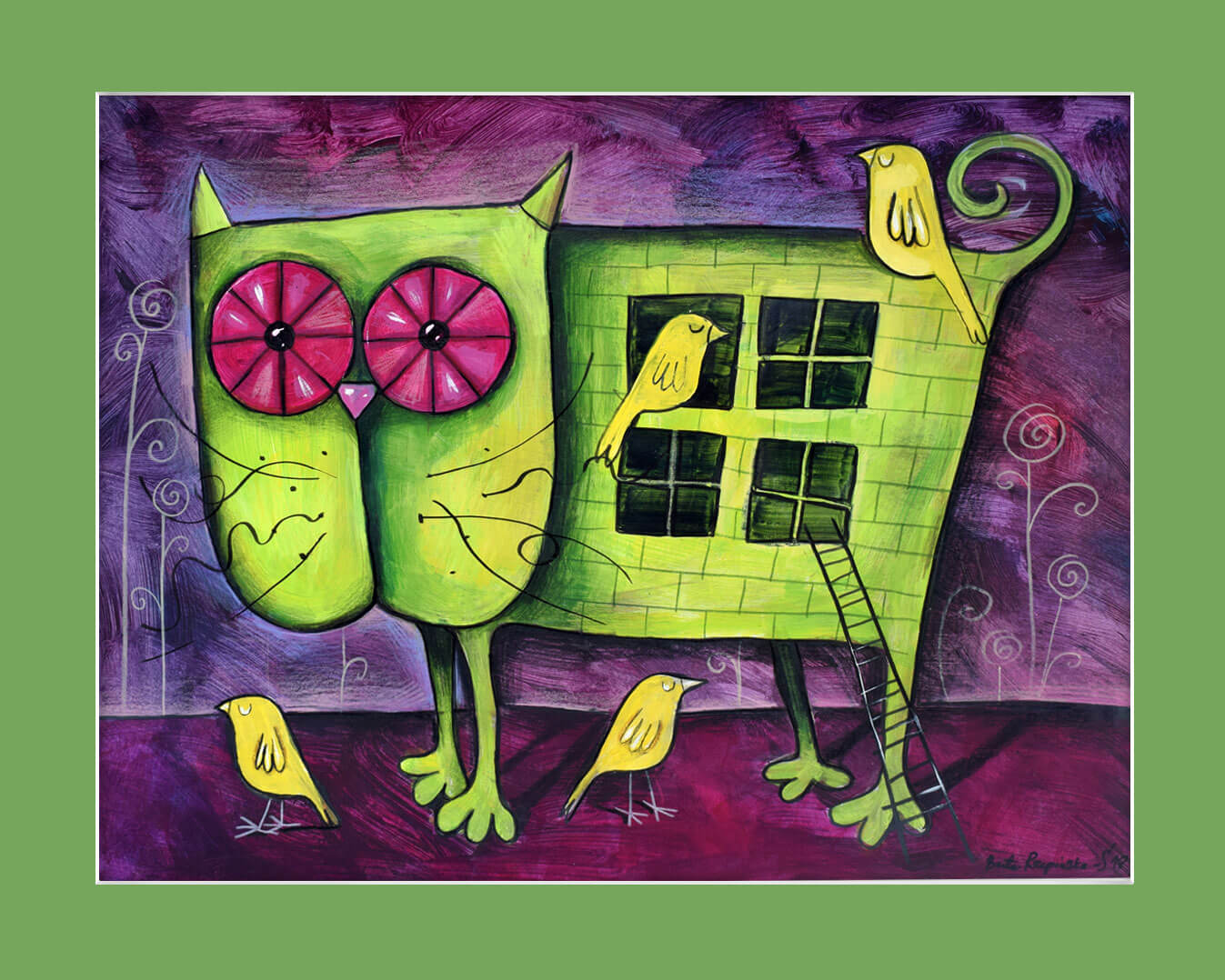 Kotek dla ptaków